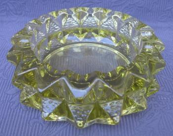 Glass Ashtray - 1980