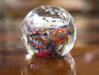 Glass Paperweight - glass - 1940