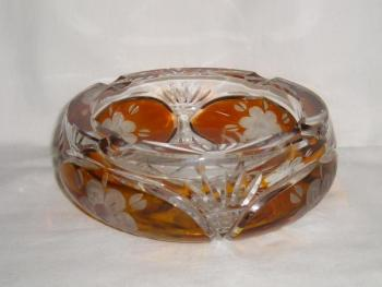 Glass Ashtray - 1970